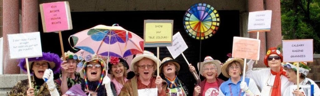 Calgary Raging Grannies
